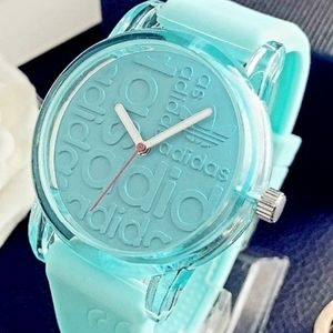 Adidas Watch Silicone Band Strap Teal Turquoise